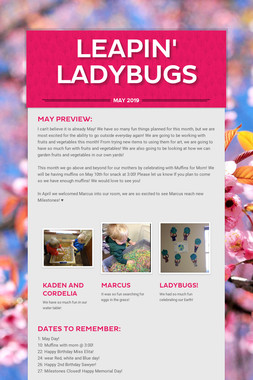 Leapin' Ladybugs
