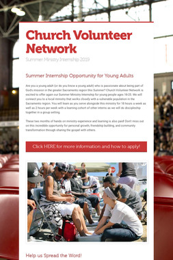 Church Volunteer Network
