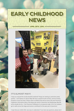 Early Childhood News