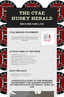 The CTAE Husky Herald