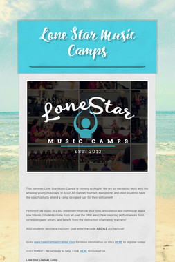 Lone Star Music Camps