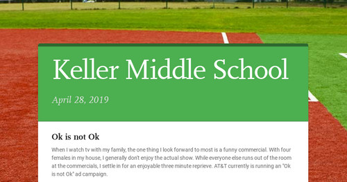 Keller Middle School | Smore Newsletters for Education