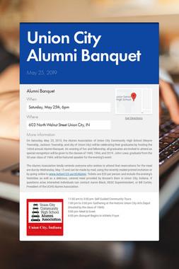 Union City Alumni Banquet