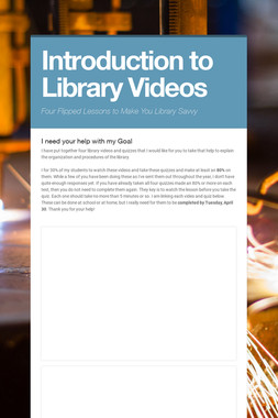 Introduction to Library Videos