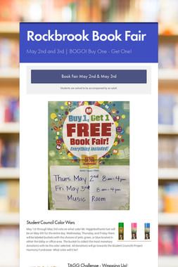 Rockbrook Book Fair