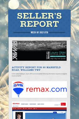 SELLER'S REPORT