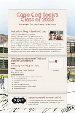 Cape Cod Tech's Class of 2023