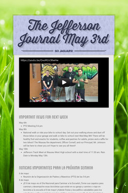The Jefferson Journal May 3rd