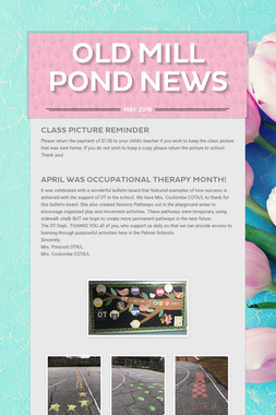 Old Mill Pond News