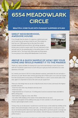 6554 Meadowlark Circle