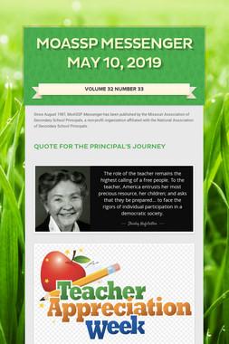MoASSP Messenger May 10, 2019