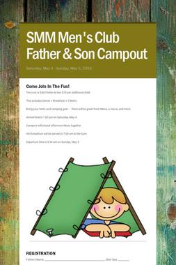 SMM Men's Club Father & Son Campout