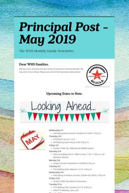 Principal Post -May 2019