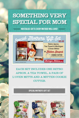 SOMETHING VERY SPECIAL FOR MOM