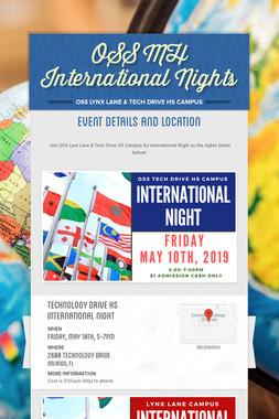 OSS MH International Nights