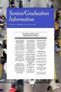 Senior/Graduation Information