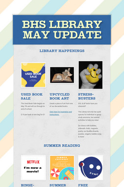 BHS Library May Update