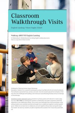 Classroom Walkthrough Visits