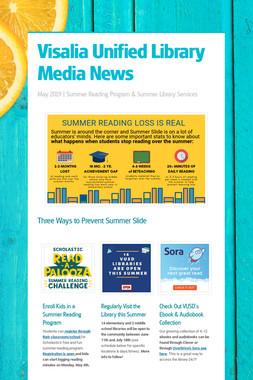 Visalia Unified Library Media News