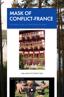 MASK OF CONFLICT-FRANCE