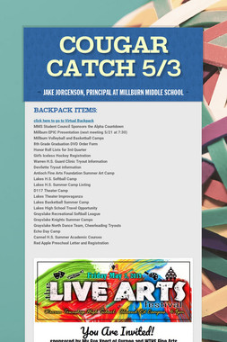Cougar Catch 5/3