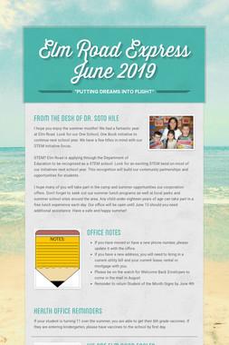 Elm Road Express          June 2019