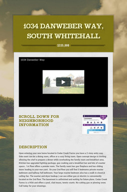 1034 Danweber Way, South Whitehall