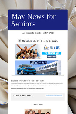 May News for Seniors
