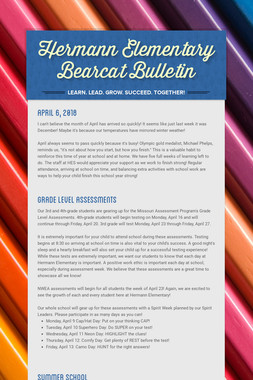 Hermann Elementary Bearcat Bulletin