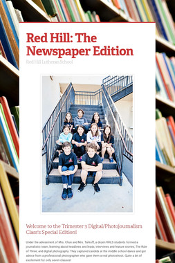 Red Hill: The Newspaper Edition