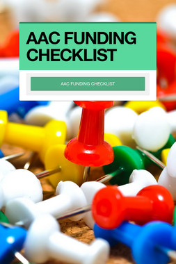 AAC FUNDING CHECKLIST
