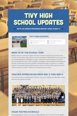 Tivy High School Updates