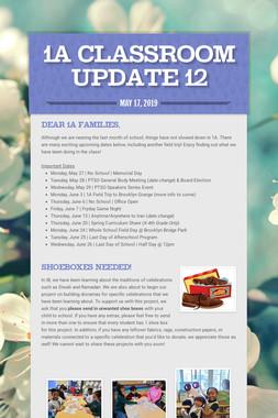 1A Classroom Update 12