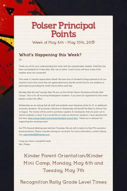 Polser Principal Points