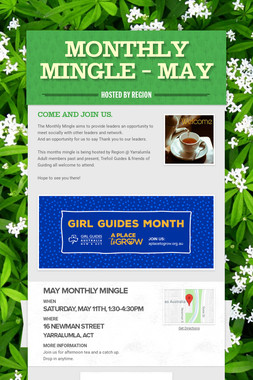 Monthly Mingle - May