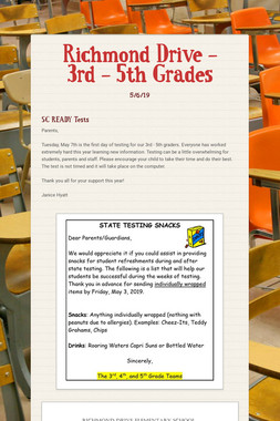Richmond Drive - 3rd - 5th Grades