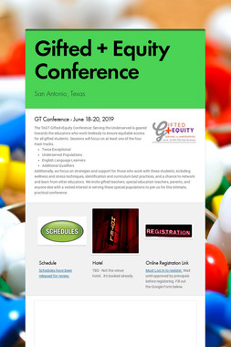 Gifted + Equity Conference