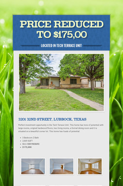 Price Reduced to $175,00