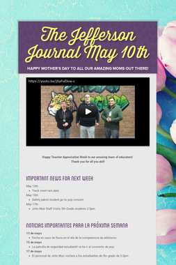 The Jefferson Journal May 10th