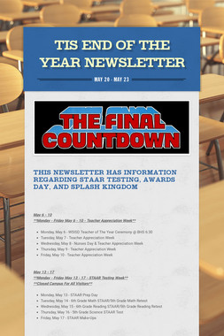 TIS End of the Year Newsletter