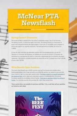 McNear PTA Newsflash