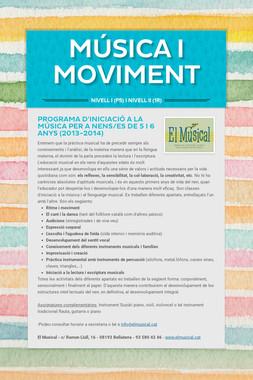 MÚSICA I MOVIMENT