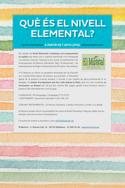 Què és el NIVELL ELEMENTAL?