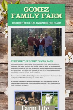 Gomez Family Farm