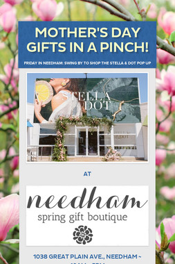 Mother's Day Gifts in a Pinch!