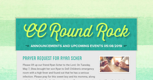 CC Round Rock | Smore Newsletters for Education