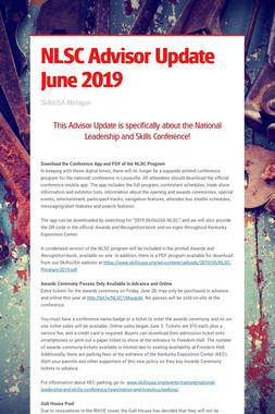 NLSC Advisor Update June 2019