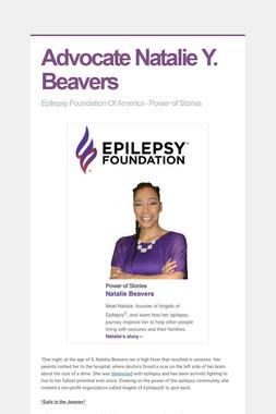 Advocate Natalie Y. Beavers