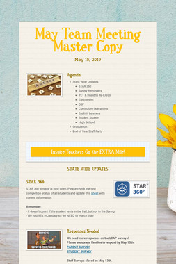 May Team Meeting Master Copy