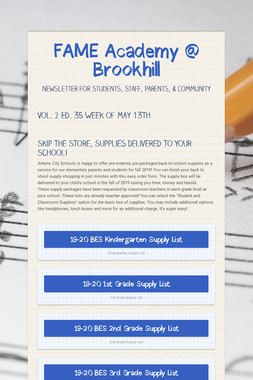 FAME Academy @ Brookhill
